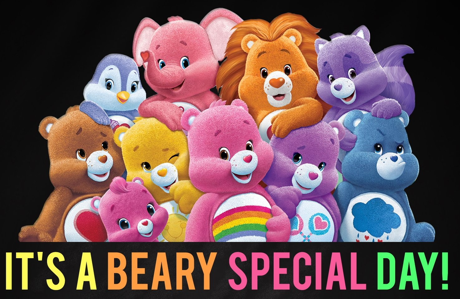 Bitty\'s 6th care bears themed birthday party! | 4 lil monsters